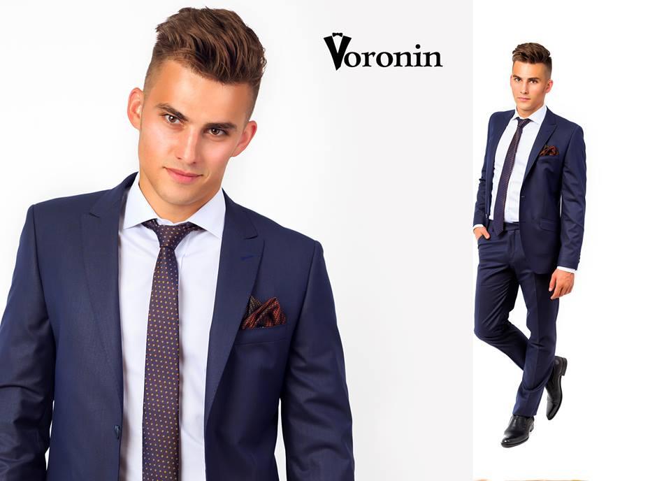 Чоловічий костюм синього кольору. Елегантний 5bb0dd3059a63
